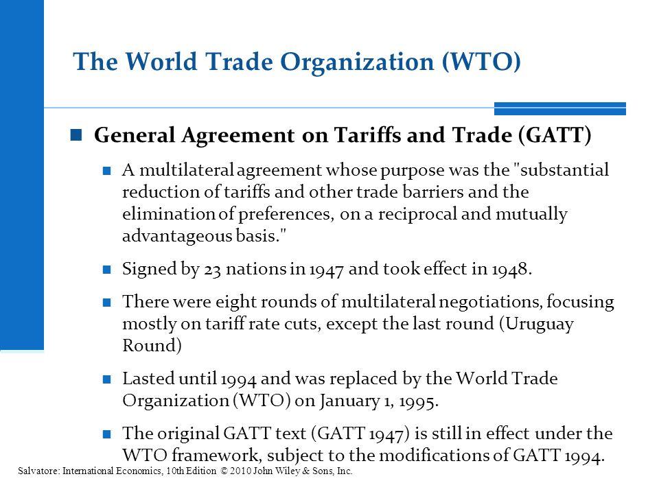 wto and gatt