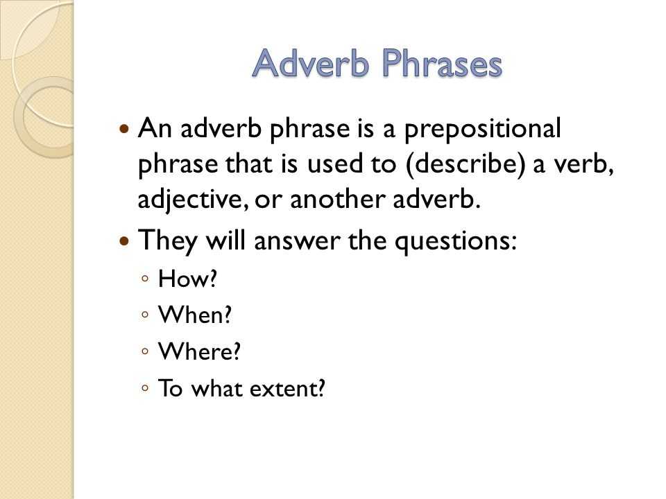100+ [ Worksheets For Adjective And Adverb Phrases ...
