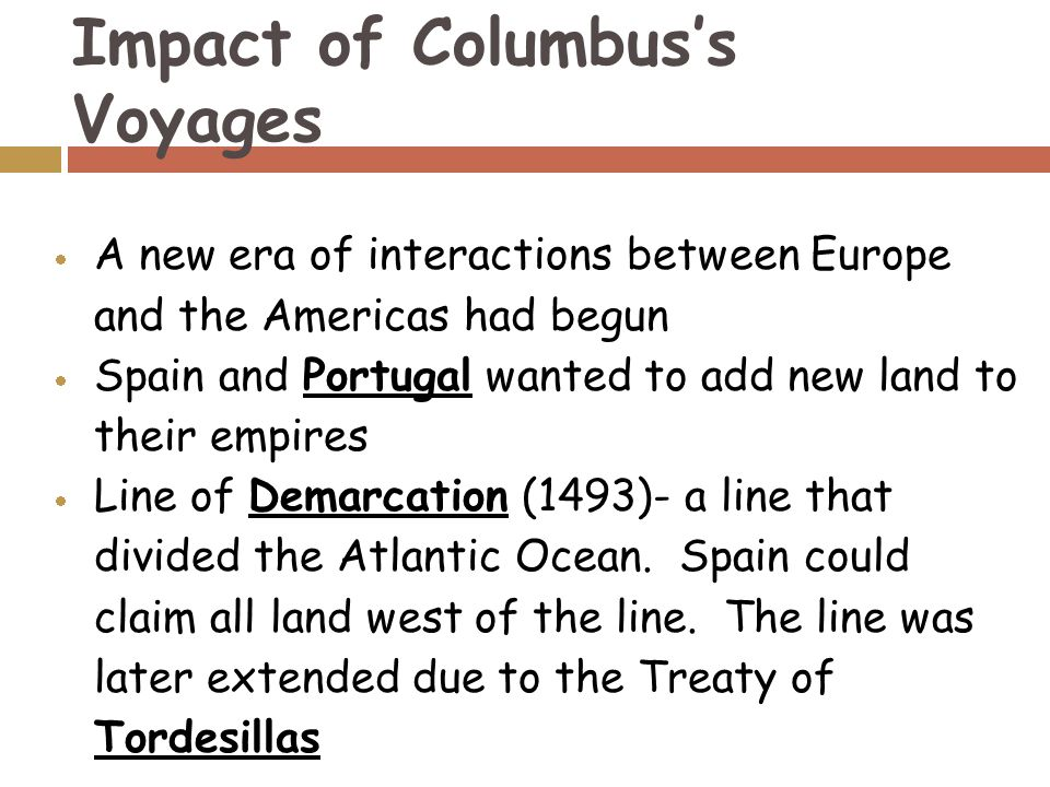 the effects of christopher columbus The idea of a holiday to celebrate the people who lived in the americas before  christopher columbus ever set foot there got its start in the.