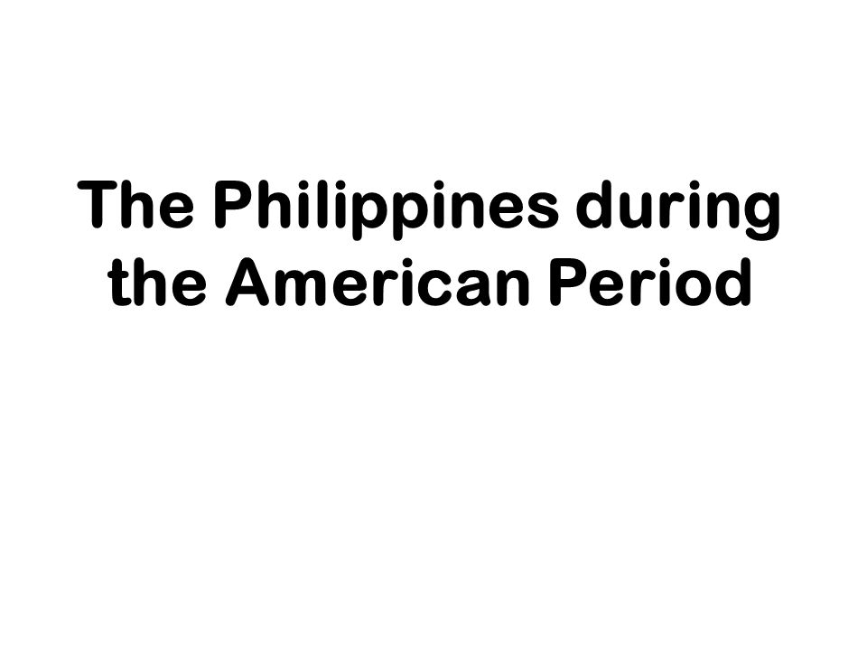 The american occupation of the philippines 1898-1912, james h. Blount.