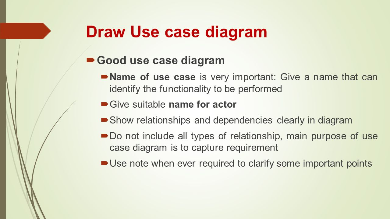 Chapter 3 introducing the uml ppt video online download draw use case diagram good use case diagram ccuart Image collections