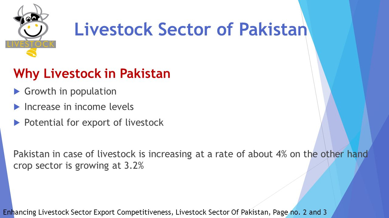 constraints in livestock sector in pakistan The binding constraints/obstacles facing first segment of meat value chain are (i)   a portion of meat sub-sector is made up of dairy meat and mutton that comes.