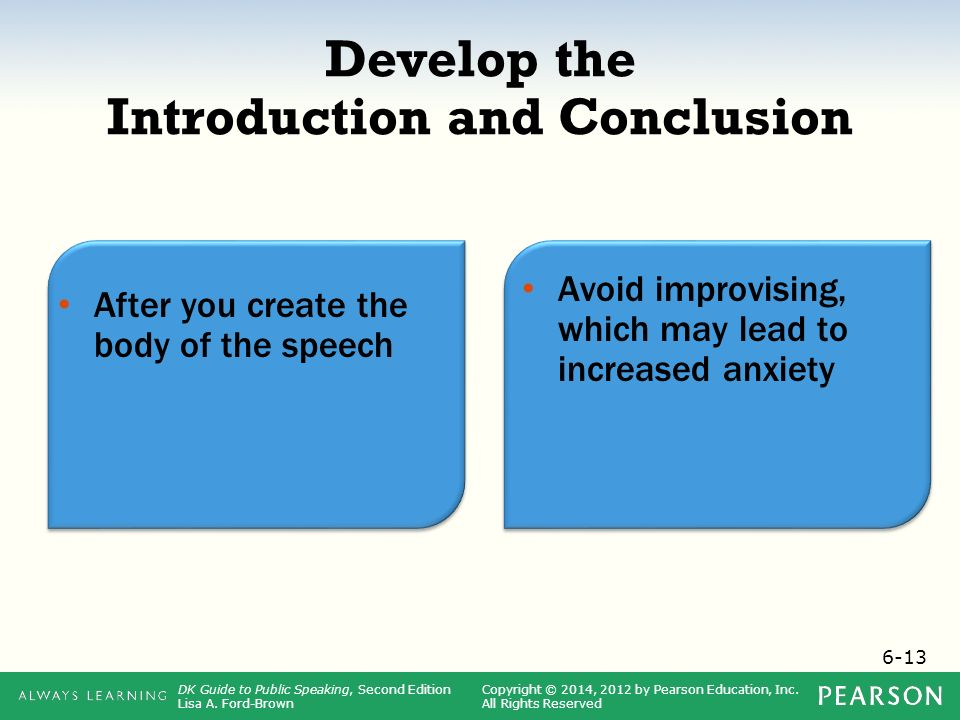 introduction and conclusion Free lesson: students learn about the importance of introductions and conclusions when writing an essay.
