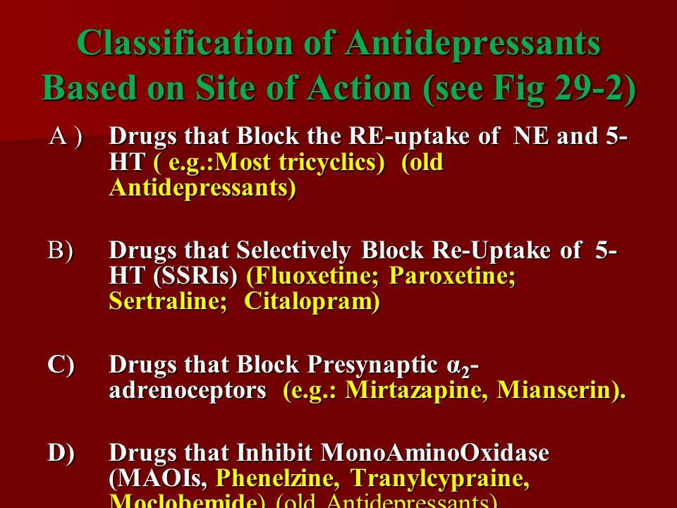 mechanism of action of antidepressants pdf