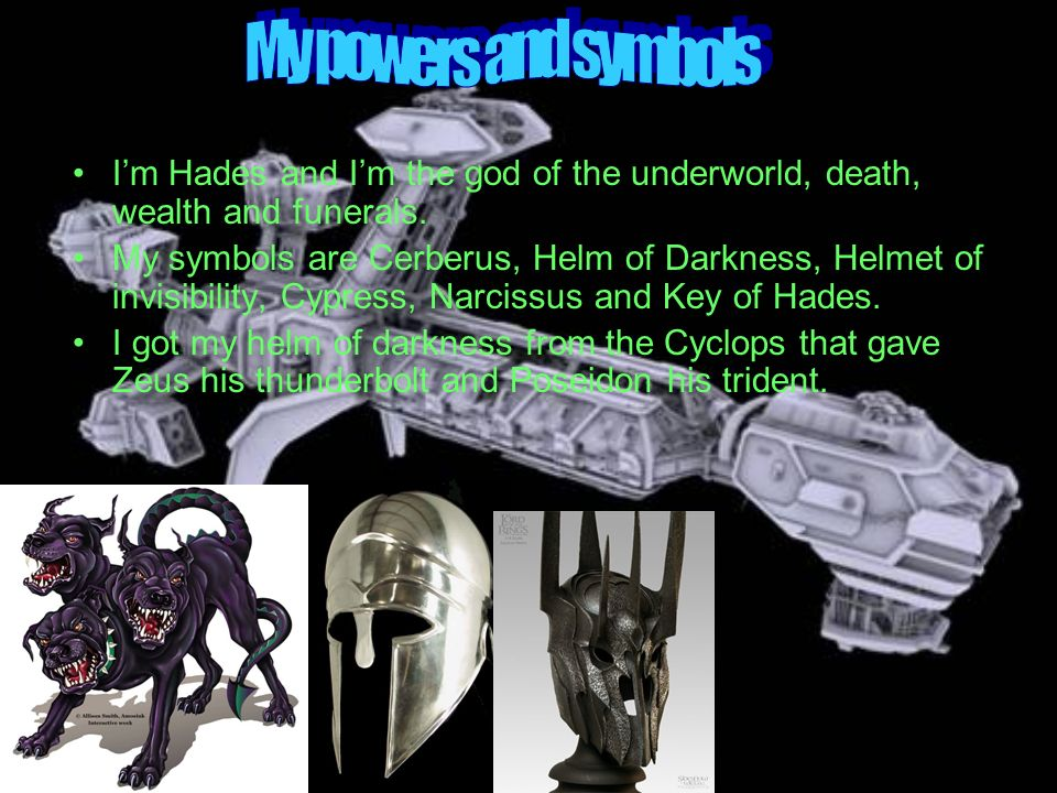 i am hades the god of the underworld and wealth ppt