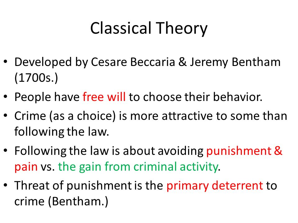 classical choice theory Abstract authoritative rational choice theorists continue to argue that wide variants of rational choice theory should be regarded as the best starting-point to formulate theoretical hypotheses on the micro foundations of complex macro- level social dynamics building on recent writings on neo-classical rational choice theory,.