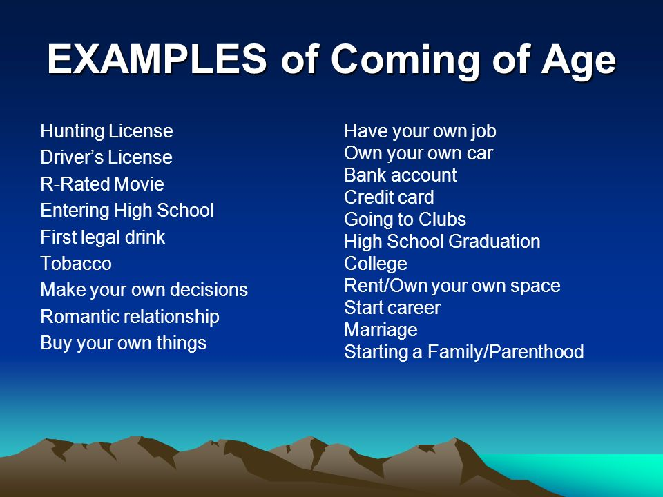 coming of age amp loss of innocence ppt video online download