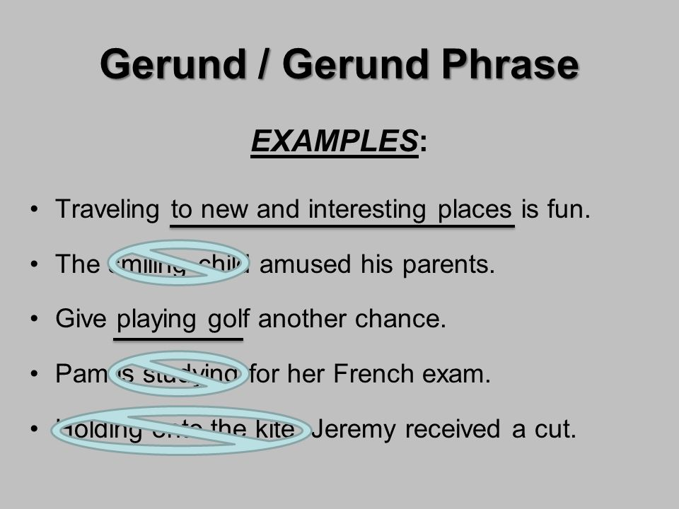 Verbals Gerund Participle Infinitive Ppt Video Online Download
