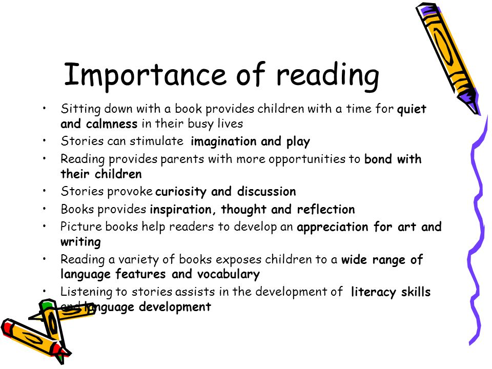 The Underestimated Importance of Reading Essay Sample
