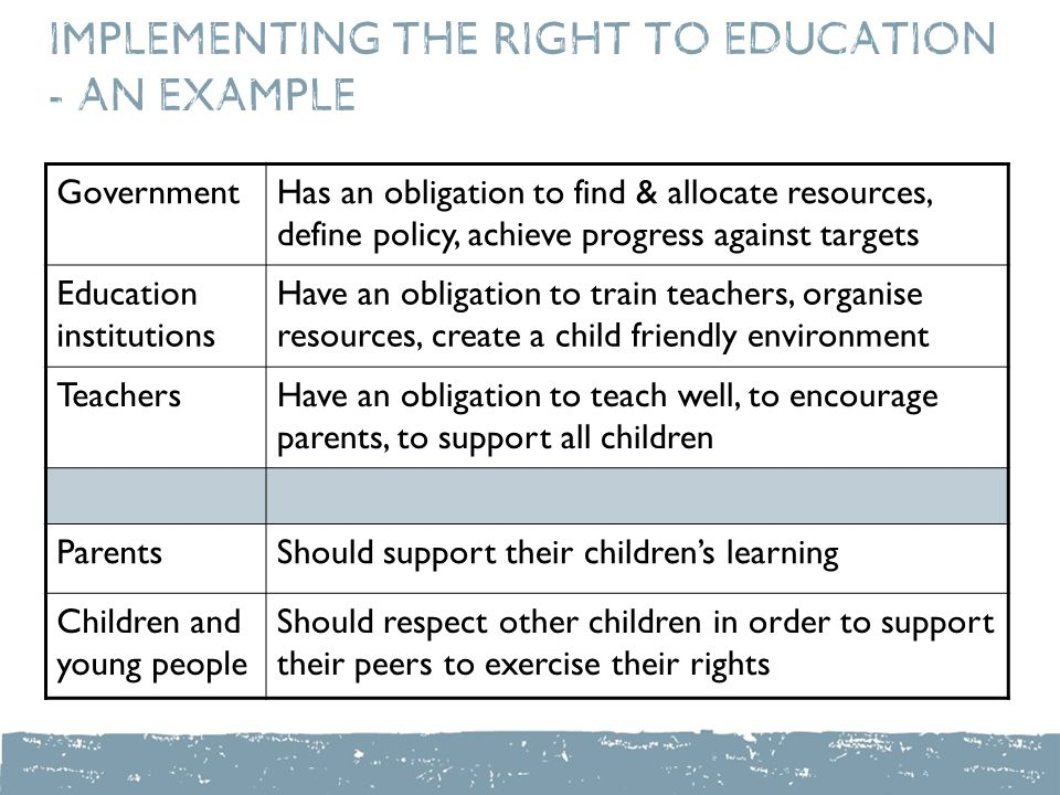 right to education hurdles in implementation Rte - features, hurdles and solutions for effective implementation right of children to free and compulsory education act – enacted in 2009, – free and compulsory.