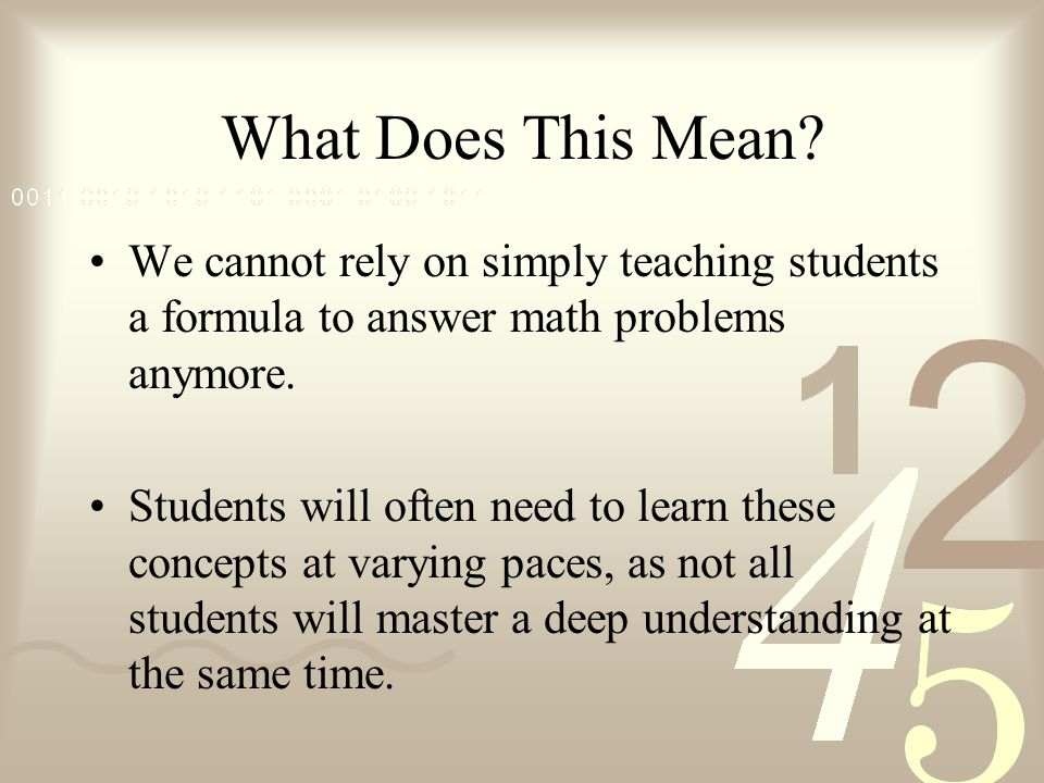 Guided math and math workshop ppt video online download for What does regrets only mean