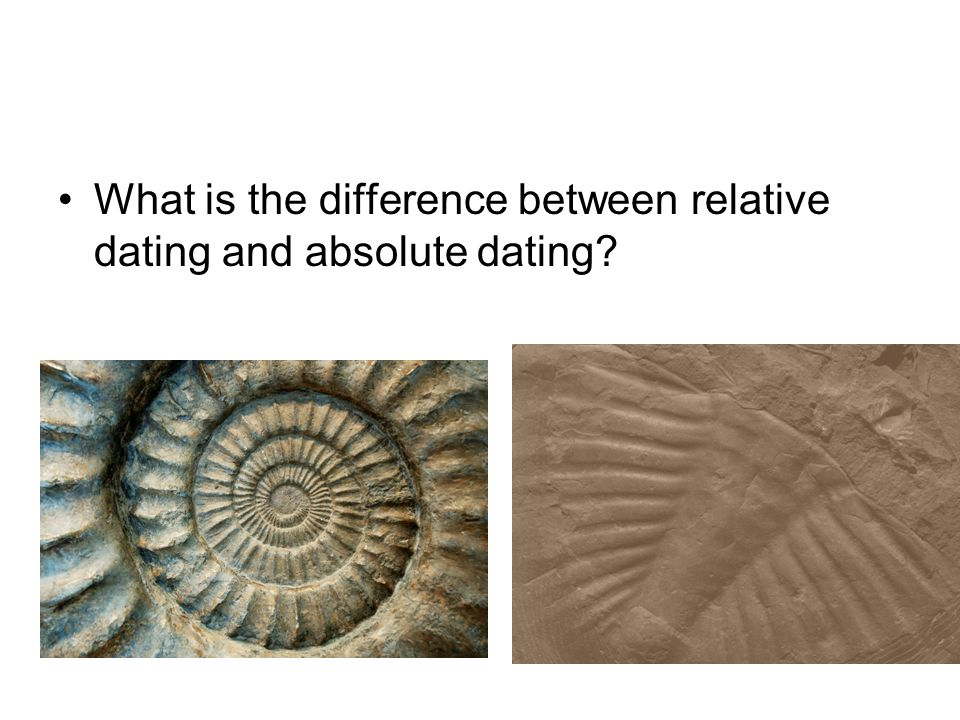 paleomagnetism relative dating and absolute
