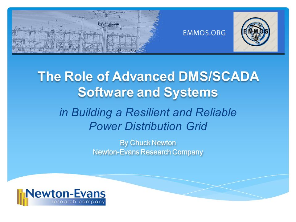 the role of advanced dms/scada software and systems - ppt video, Presentation templates