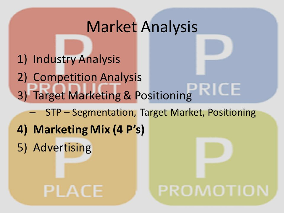 marketing mix analysis Most online strategic marketing efforts today are a mix of  from the attention paid to the analysis of data database marketing emphasizes the use of.