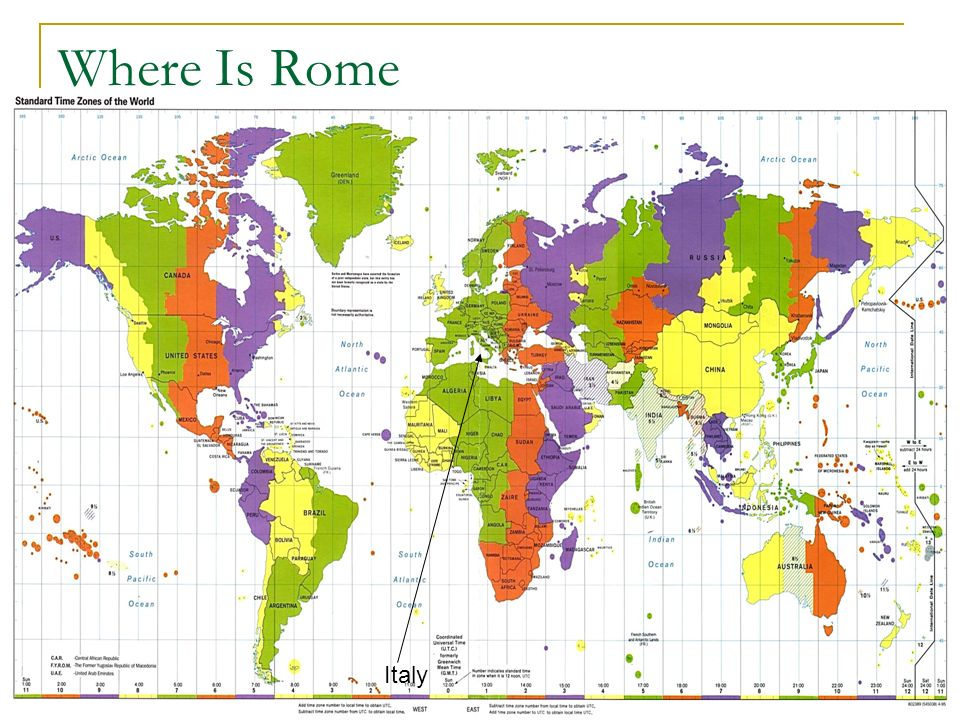 Romans Ppt Download - Where is rome