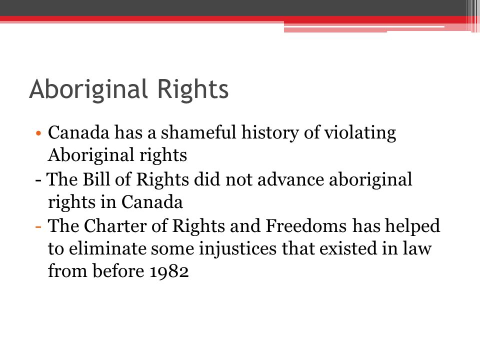aboriginal rights and freedoms essay help