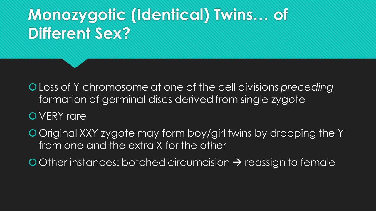twins of opposite sex are called