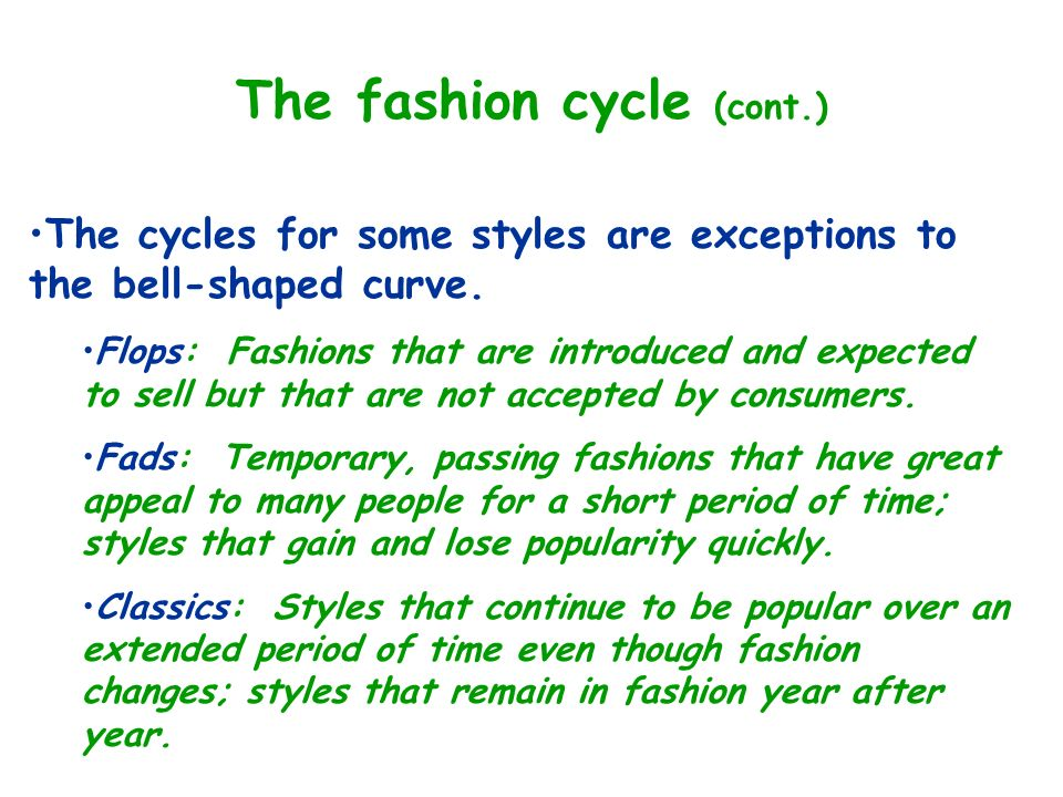 Evolution And Movement Of Fashion Ppt Video Online Download