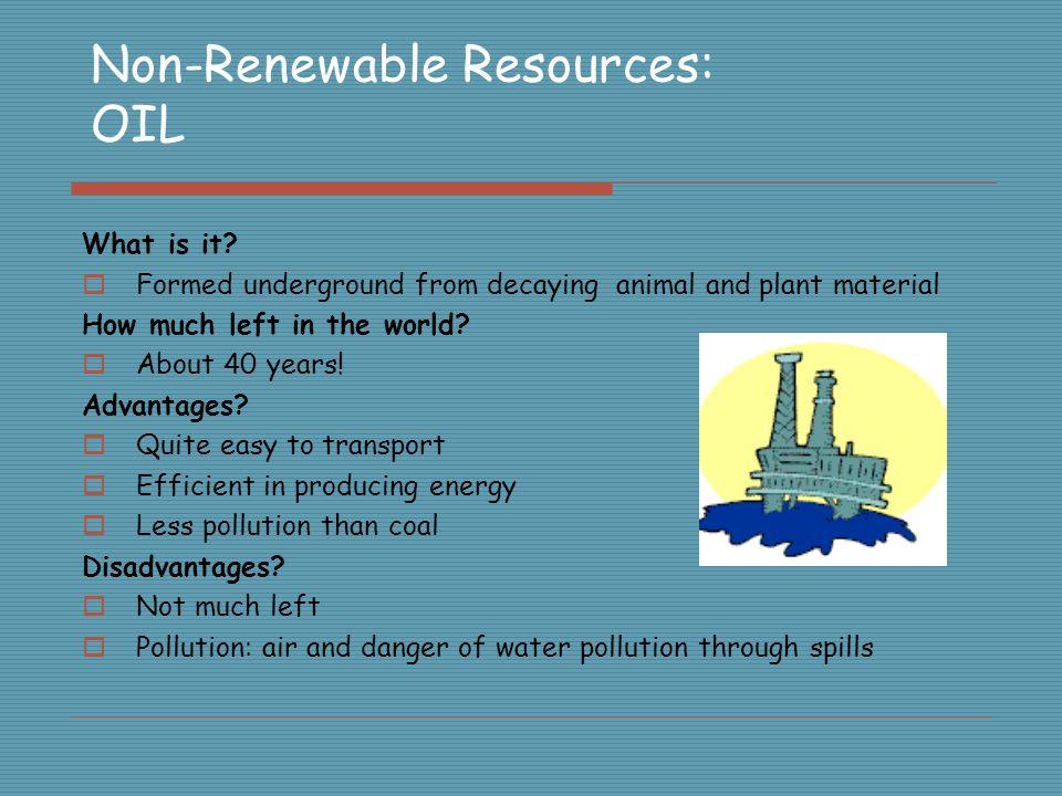 Renewable V Nonrenewable Resources Ppt Video Online