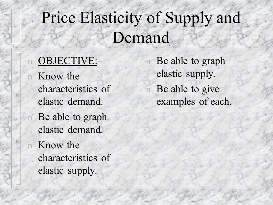 price elasticity of demand vs supply An application of price elasticity of demand if the quantity demanded for milk were 100 units and the price elasticity of demand for milk was -6 if the price of milk increased by 8%, how much would the quantity demanded change.