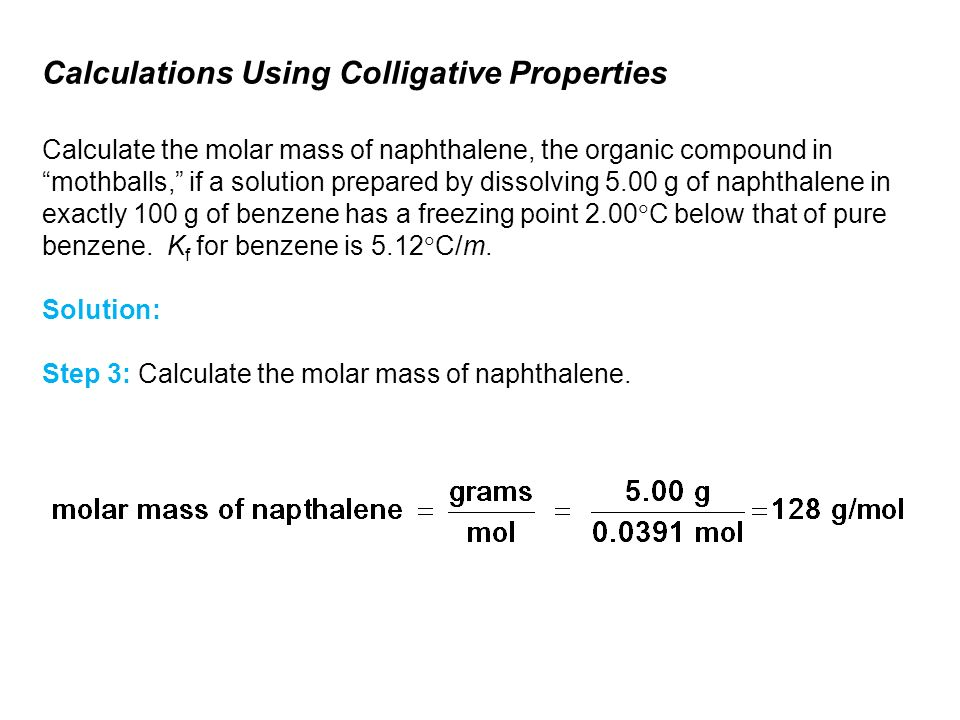 Physical Properties of Solutions - ppt download