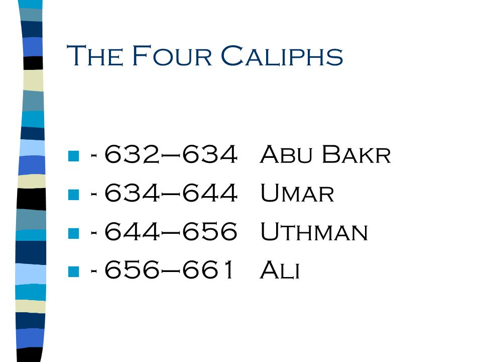 the four rightly guided caliphs pdf