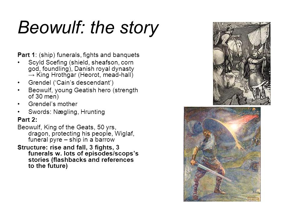 beowulf a reference to kings and lords As beowulf is essentially a record of heroic deeds, the concept of identity—of   about their identity or even introduce themselves without referring to family  lineage  values manifests itself early on in the outlooks of beowulf and king  hrothgar.