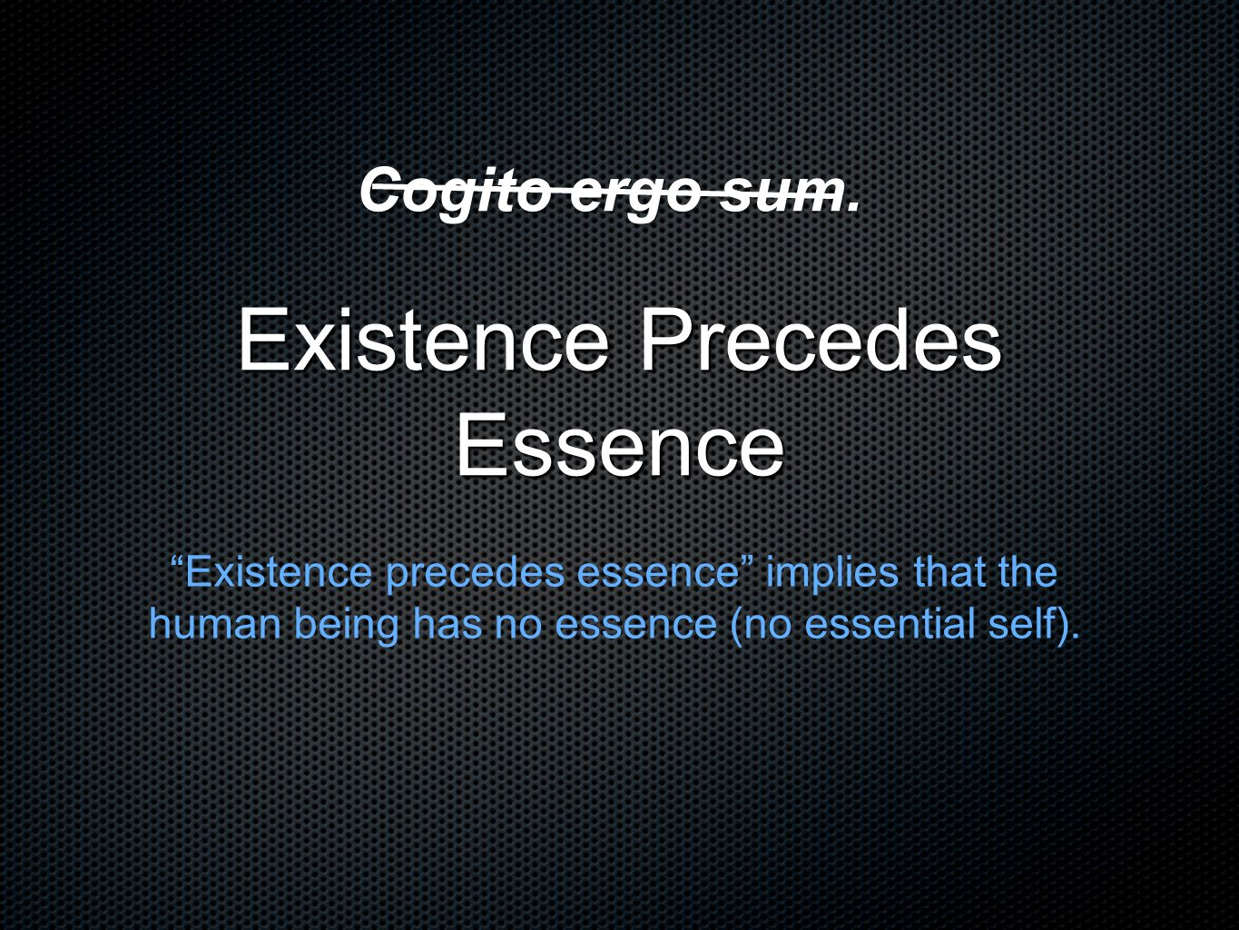 essence precedes existence Existence precedes essence - meaning of the stored-program concept⋆ allan  olley ihpst, university of toronto 91 charles st, toronto, on, canada.