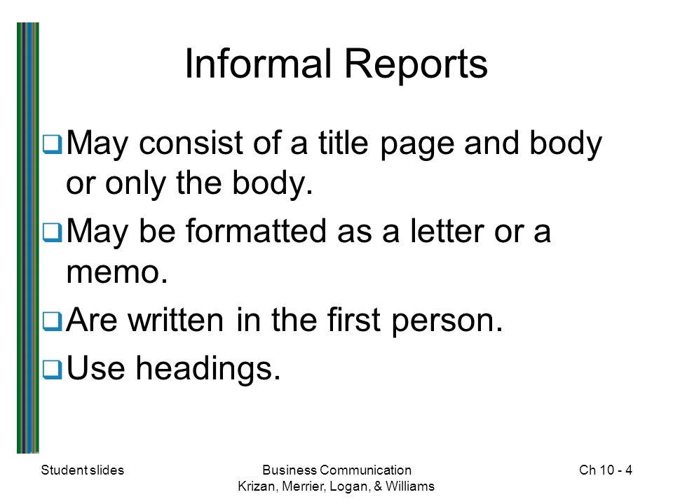 business communication report writing format Business communication skills and report writing communication and writing skills october 2, 2018 communication is the quintessential competency that.