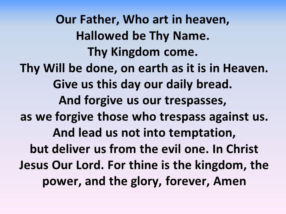 Glory to god almighty lyrics