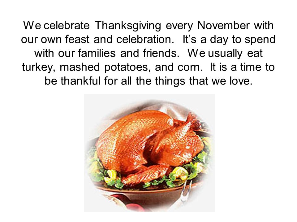 The story of the first thanksgiving ppt download for Why do we eat turkey on thanksgiving