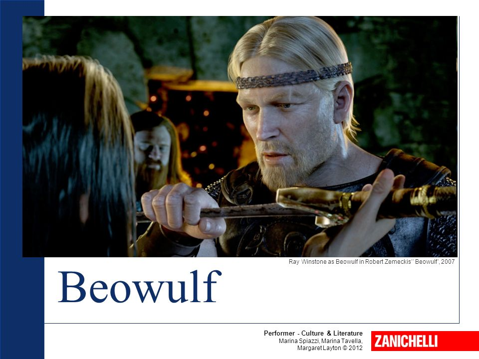 the portrayal of the beliefs of the anglo saxon people in the epic beowulf