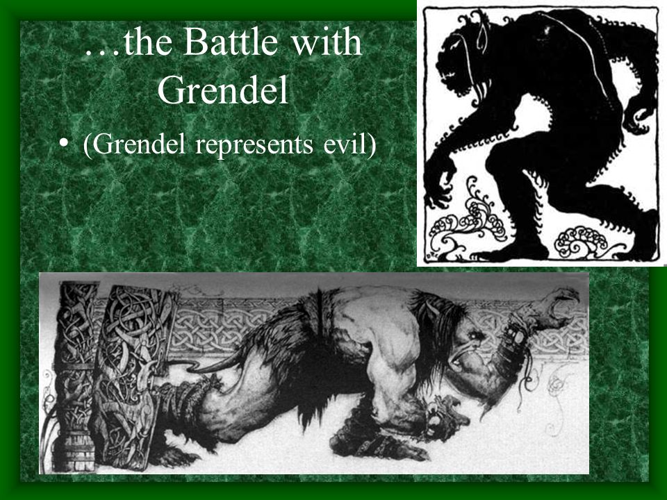 summary of beowulf the battle with grendel