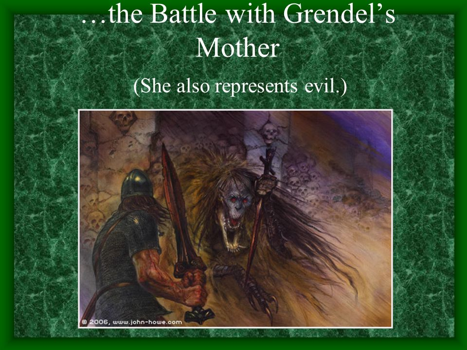 the battle of good and evil as represented in beowulf I have an essay due tomorrow about the story beowulf and the question is discuss the battle between good and evil in the poem who reperisents good who reprisents evil.