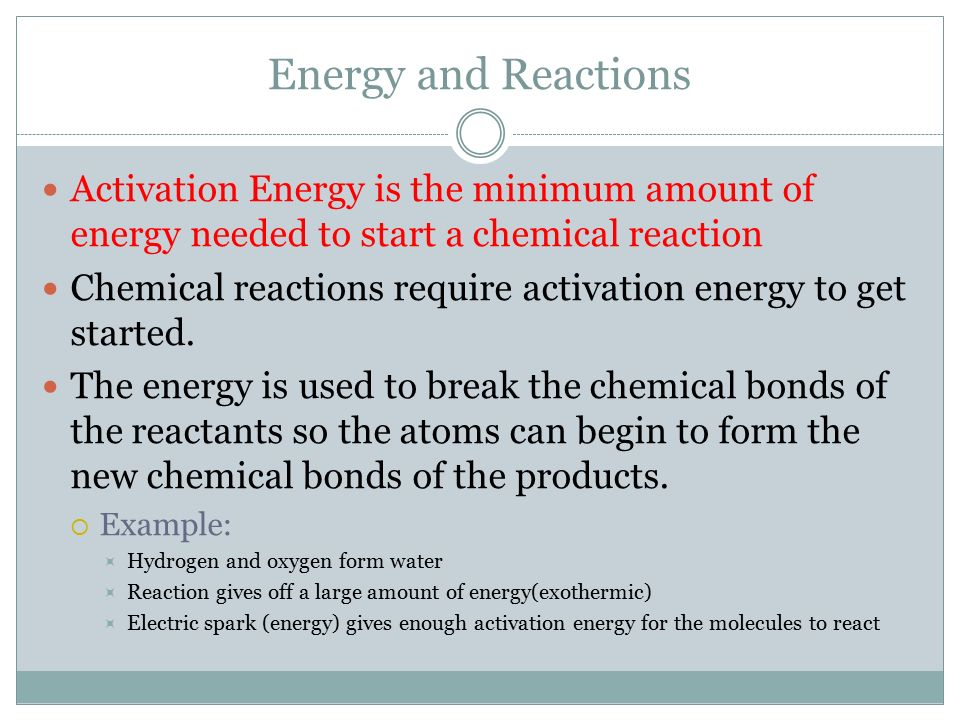 Controlling Chemical Reactions - ppt download