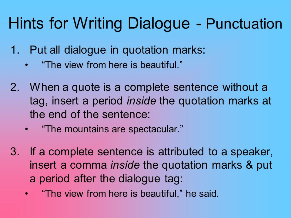 quote dialogues essay