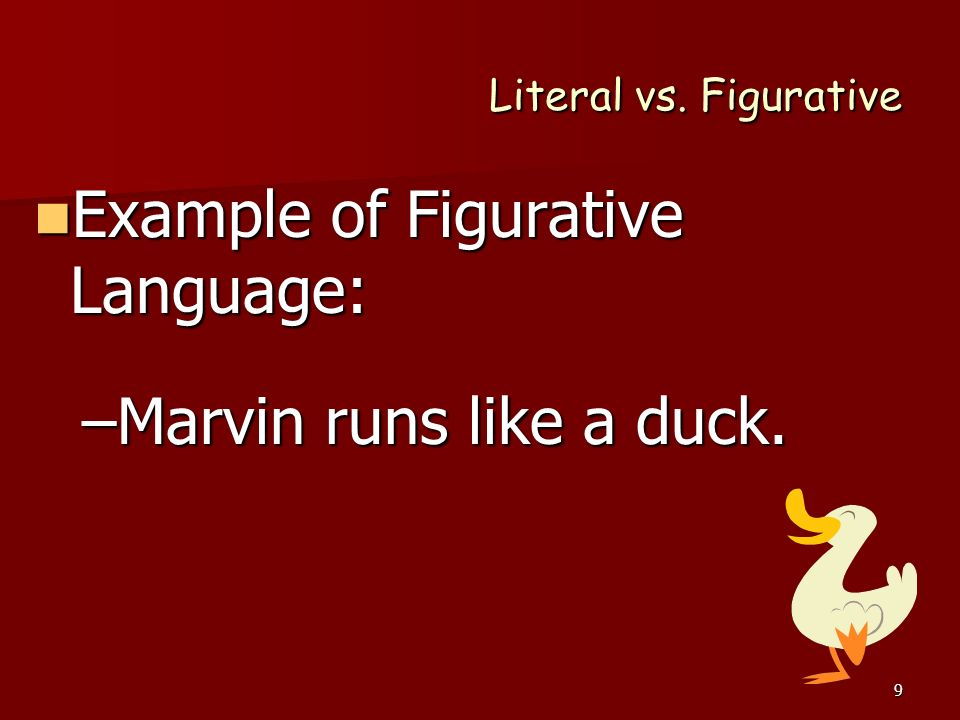 horror and figurative language in the