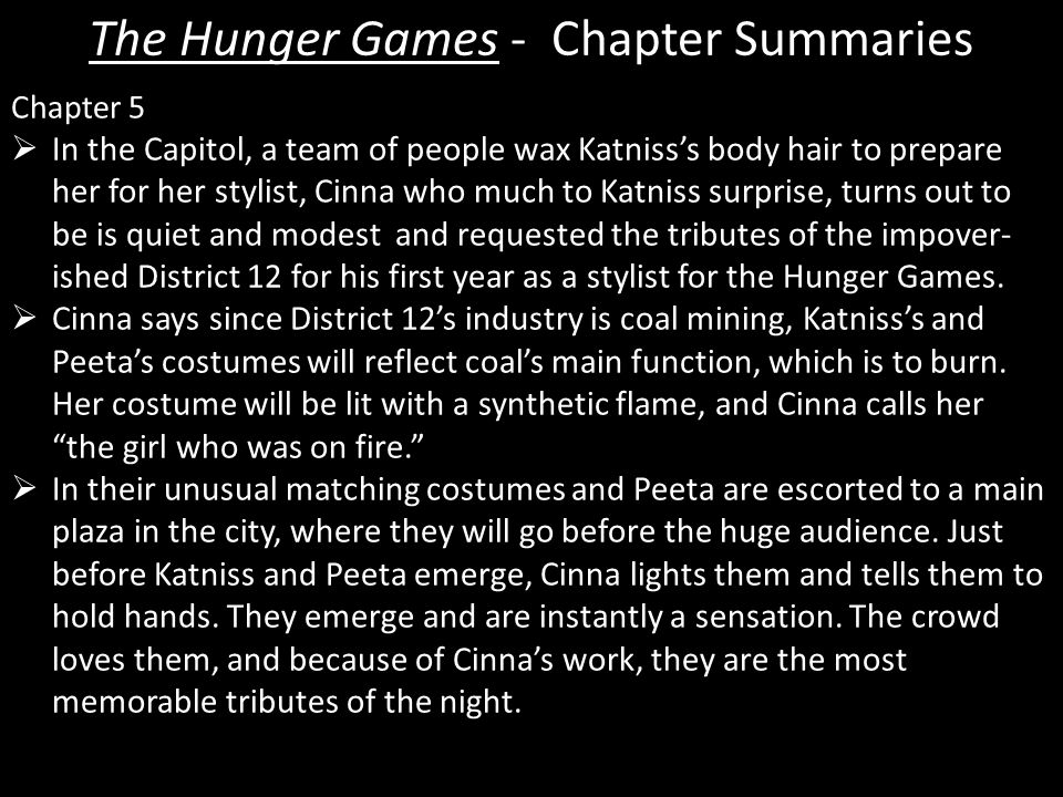 hunger games chapter summaries custom paper writing service
