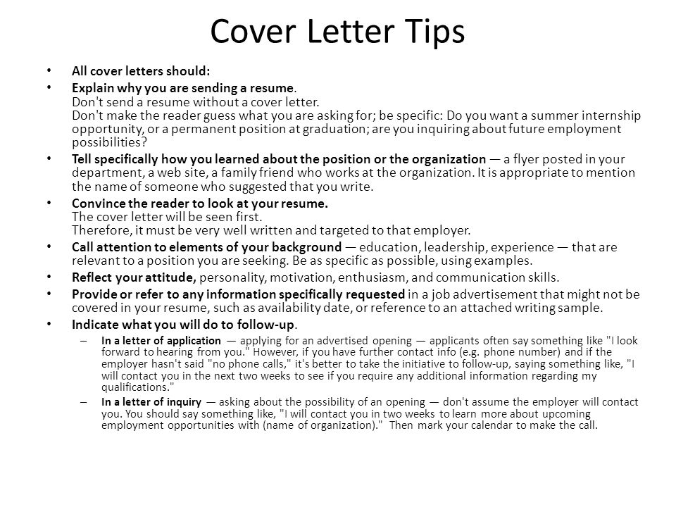 future opportunities cover letter - quarter 2 project 800 points ppt video online download