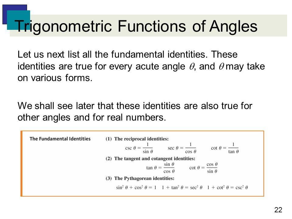 list of all trigonometric identities pdf
