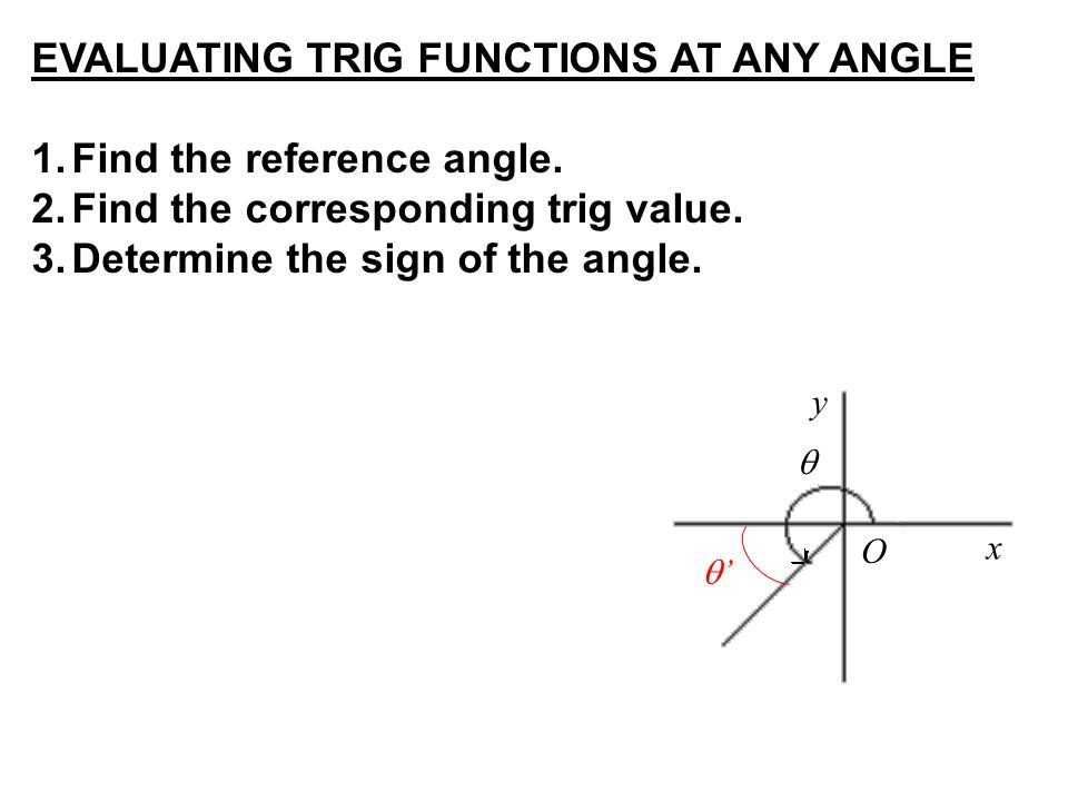 WarmUp 3 Find the measure of ppt download – Reference Angles Worksheet