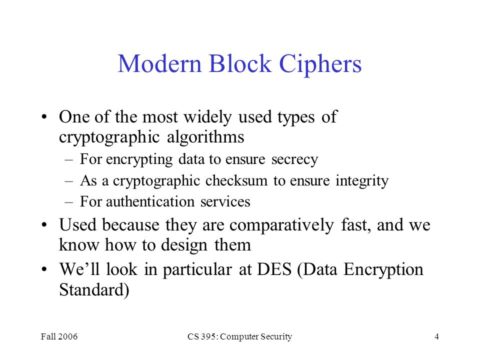 a look at date encryption through cryptographic methods Quantum cryptography quantum cryptography attempts to achieve the same security of information as other forms of cryptography but through the use of photons it can be used to constitute a molecular checksum and can be combined with the first approach to support encryption.