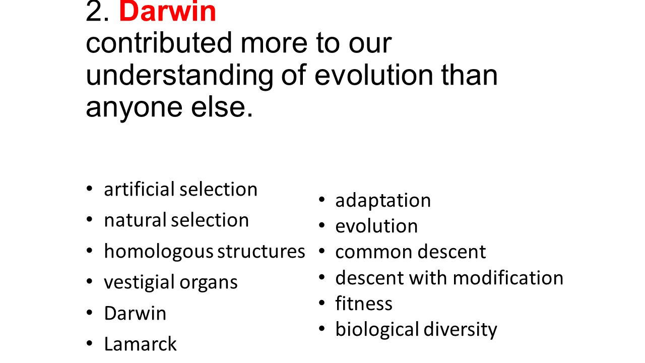 understanding evolution It is also important to understand that evolution continues to occur for example,  bacteria that evolve resistance to antibiotics or plants that become resistant to.