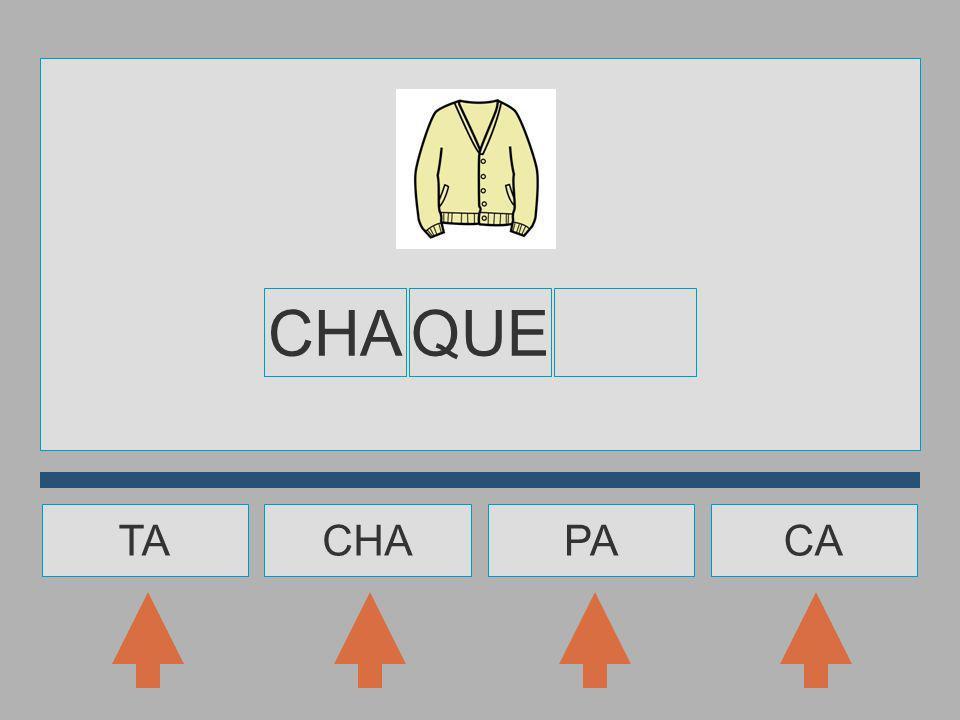 CHA QUE TA CHA PA CA