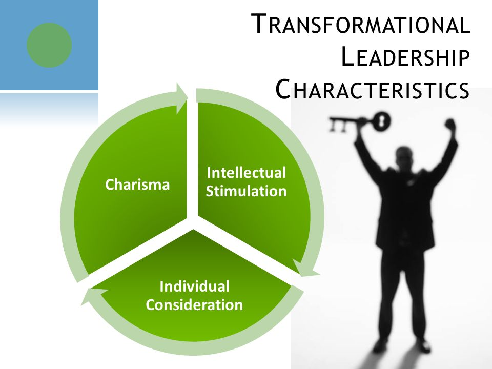 features of transformational leadership What is transformational leadership transformational leadership is defined as a leadership approach that causes a change in individuals and social systems in its purest form, it creates valuable and positive changes among followers with a vision of developing the followers into leaders.