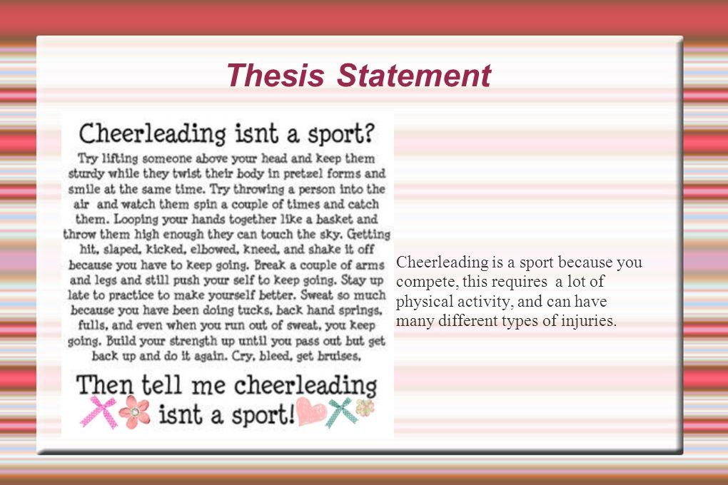 sports thesis topics
