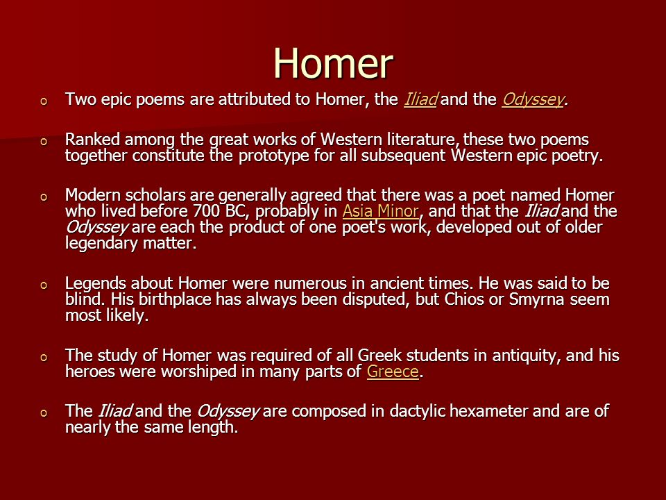 an analysis of greek heroism in the odyssey by homer The odyssey is an epic poem about the wanderings of the greek hero odysseus following his victory in the trojan war (which, if it did indeed take place, occurred in the 12th-century bc in mycenaean greece.