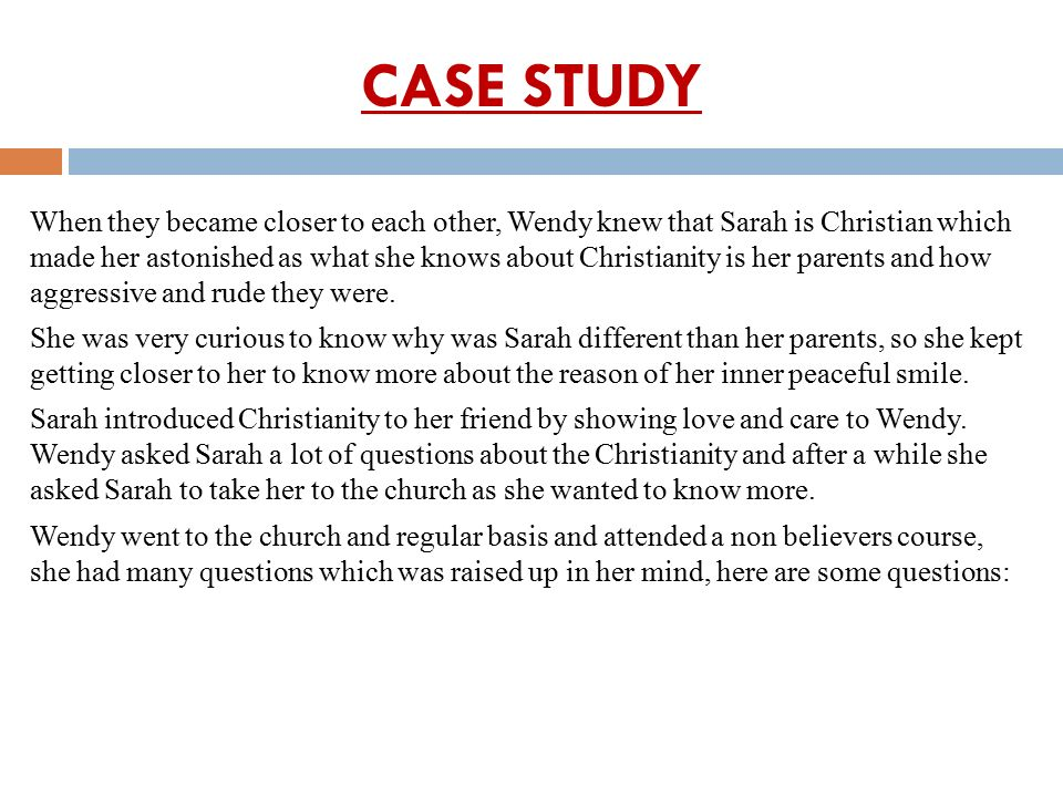 DIRECTED CASE STUDY METHOD FOR TEACHING HUMAN …