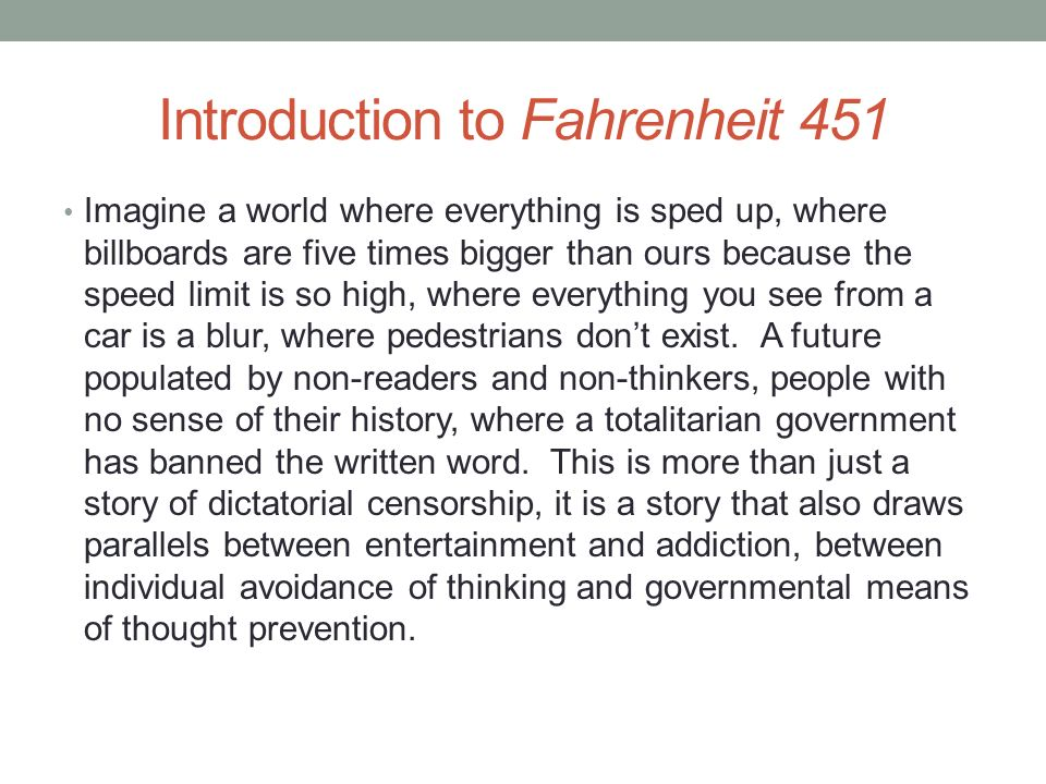fahrenheit 451 dialectic journal