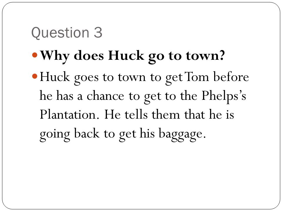 why does huck finn reject civilization Huckleberry finn - conflict between the individual: huck was not raised in accord with the accepted ways of civilization huck faces many aspects of society.